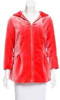 Louis Vuitton Velvet Zip-Up Jacket