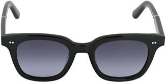 Chimi 101 Black Square Acetate Sunglasses
