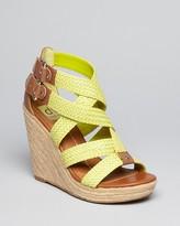 Dolce Vita Platform Wedge Sandals - Talor