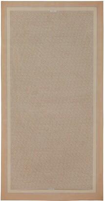 Burberry TB Monogram Print Silk Chiffon Scarf