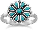 Wild Lilies Jewelry Turquoise Flower Ring