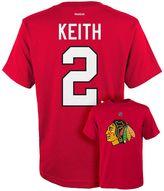 Reebok Boys 8-20 Chicago Blackhawks Ducan Keith Player Tee