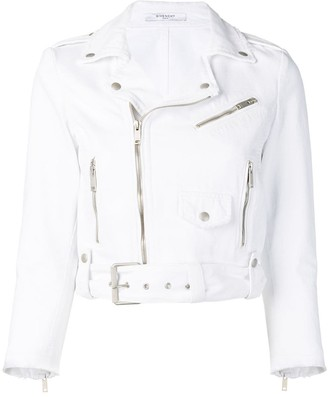 Givenchy fitted biker jacket