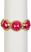 Trina Turk Bezel Set Dome Bracelet