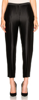 Rosetta Getty Cropped Tapered Pant