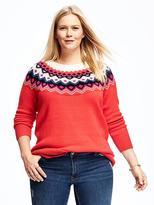 Old Navy Fair Isle Plus-Size Sweater