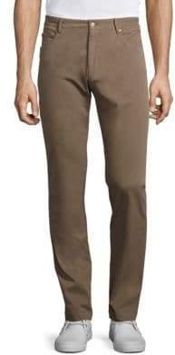 G・T・A Straight Leg Cotton Jeans