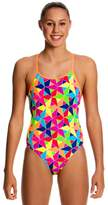 Funkita Girls The Joker Diamond Back One Piece