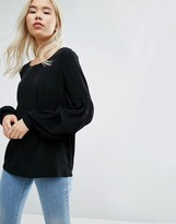 Vila Oversized Top