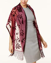 INC International Concepts Floral Scroll Evening Wrap, Created for Macy's