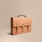 Burberry The Trench Leather Satchel