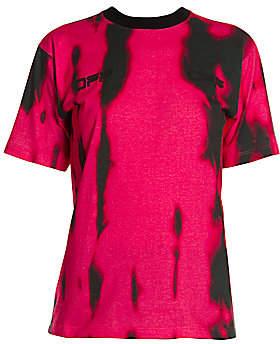 Off-White Women's Tiger Dye Cotton T-Shirt