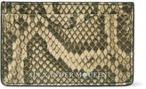 Alexander McQueen Python Cardholder