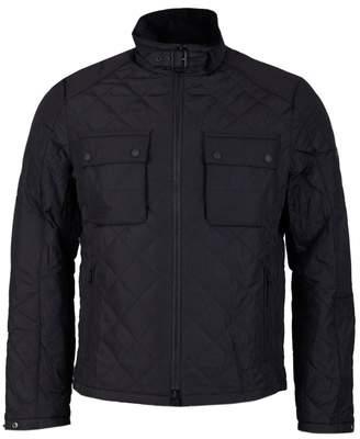 Barbour International City Box Quilt Two Pocket Jacket Colour: BLACK,