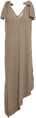 Pringle Button-detailed Cashmere Midi Dress