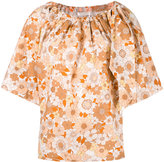 Chloé floral print blouse - women - Cotton - 36