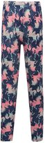 M&Co Unicorn print pyjama leggings