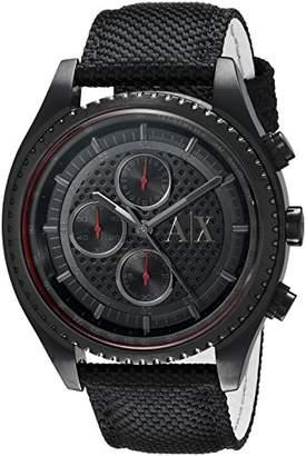 Armani Exchange Men's AX1610 Leather Watch