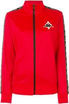 Marcelo Burlon County of Milan x Kappa zipped jacket - women - Polyester - XS