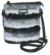 Adrienne Landau Women's Faux Fur Crossbody.