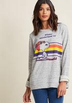 ModCloth Cool Character Sweatshirt in L