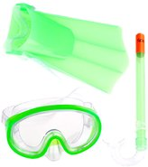 Speedo Kids Mask, Snorkel, and Fin Snorkeling Set 17267