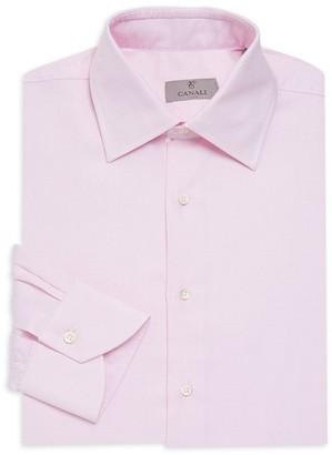 Canali Micro Neat Dress Shirt