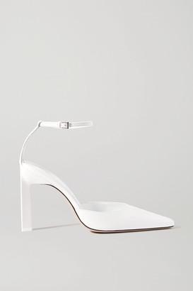 ATTICO Leather Pumps - White