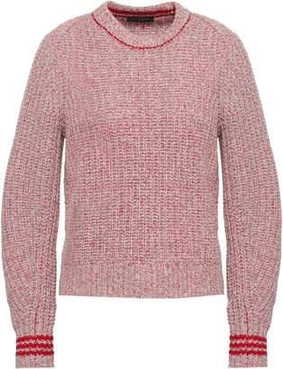 Rag & Bone Cheryl Melange Ribbed Merino Wool-blend Sweater