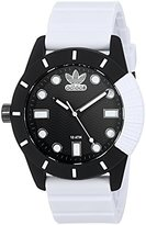 adidas Women's 'ADH-1969' Quartz Plastic and Silicone Casual Watch, Color:White (Model: ADH3132)