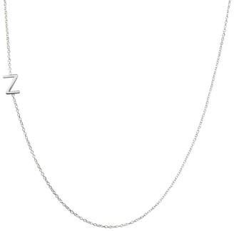Maya Brenner Asymmetrical Initial Necklace