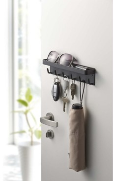 Yamazaki Smart Magnetic Key Rack With Tray