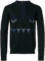 Fendi round neck pullover - men - Wool - 46