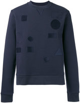 Joseph Tonal badge sweatshirt - men - Cotton/Polyester - M