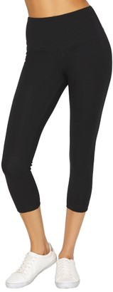 Lysse Medium Control Flattering Cropped Cotton Leggings