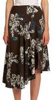 Cédric Charlier Asymmetric Orchid Skirt