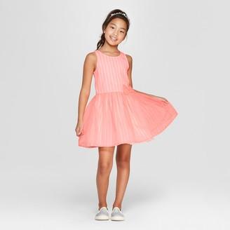 Cat & Jack Girls' Stripe Dressy Dress - Cat & JackTM