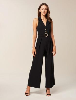 Ever New Celia Wide Leg Tux Jumpsuit