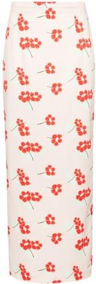 BERNADETTE Floral Print Maxi Skirt