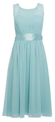 Dorothy Perkins Womens Showcase Green 'Bethany' Skater Dress, Green