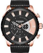 Diesel Men's DZ4347 Stronghold Analog Display Analog Quartz Black Watch