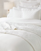 Soma Intimates Luxe Full/Queen Quilted Coverlet Ivory