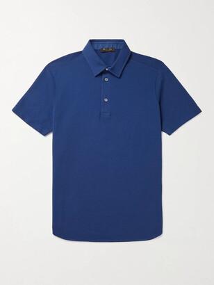 Loro Piana Cotton-Pique Polo Shirt