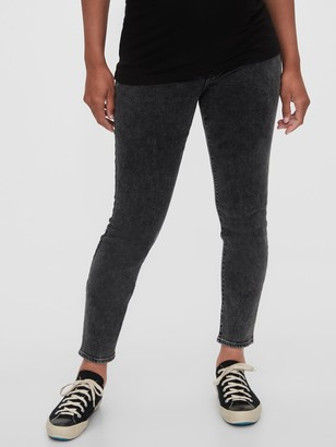 Gap Maternity Inset Panel Skinny Jeans