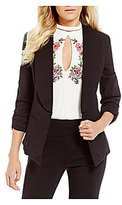 Takara Ruched Sleeve Suiting Jacket