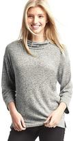 Gap Softspun knit funnel neck top