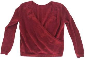 Sézane Sezane Fall Winter 2019 Burgundy Wool Knitwear