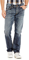 Silver Jeans Co. Allan Stretch Whiskered Slim-Fit Jeans