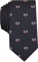 Bar III Men's Open Book Conversational Slim Tie, Only at Macy's