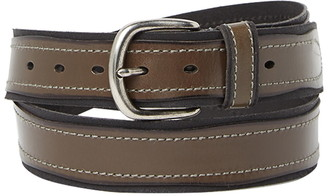 John Varvatos Collection Pop Suede Leather Belt